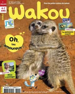 Wakou et J'aime ma planète Avril 2014