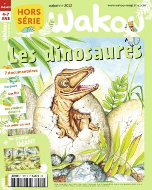 Wakou Hors-série sur les dinosaures - Automne 2012