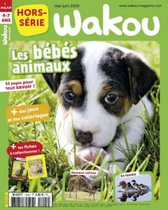Wakou Hors série Bébés animaux - Mai-Juin 2014