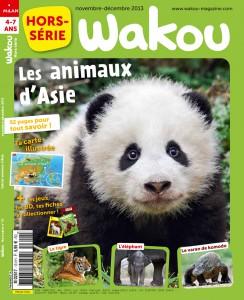 Wakou Hors-série Animaux d'Asie - Novembre-Décembre 2014