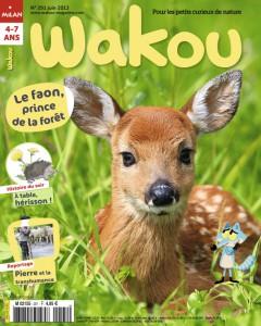 Wakou et le faon, prince de la forêt - Juin 2013