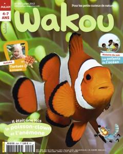 Wakou et le poisson-clown Juillet 2013