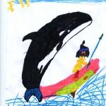 Dessin Hugo - Concours Yakari sur Wakou magazine