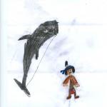 Dessin Nathan - Concours Yakari sur Wakou magazine