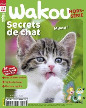Wakou hors-série : secrets de chats