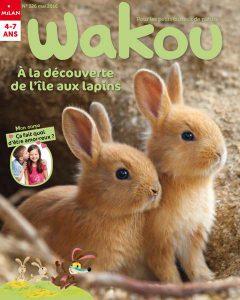 Le retour du printemps Couverture Wakou numero 326 mai 2016