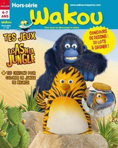 Hors série jeux les as de la jungle Sommaire Wakou HS juillet 2016