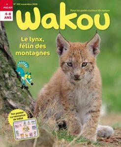Couverture Wakou : le lynx, félin des montagnes