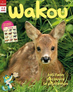 Joli faon découvre le printemps - Wakou Magazine