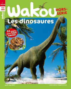 Wakou hors-série dinosaures 2017