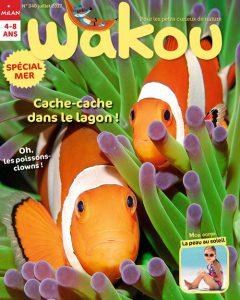 Couverture du magazine Wakou : cache-cache dans le lagon