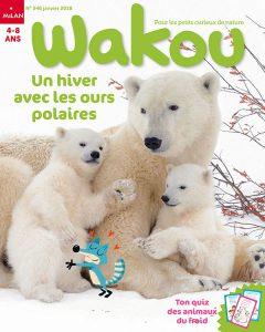 Un hiver avec les ours polaires et Wakou