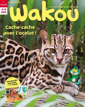Cache-cache avec l'ocelot dans Wakou magazine !