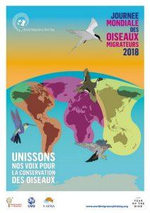 Affiche journée mondiale des oiseaux migrateurs 2018