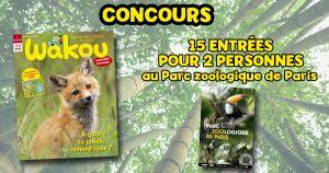 concours Wakou parc zoologique de paris lynx