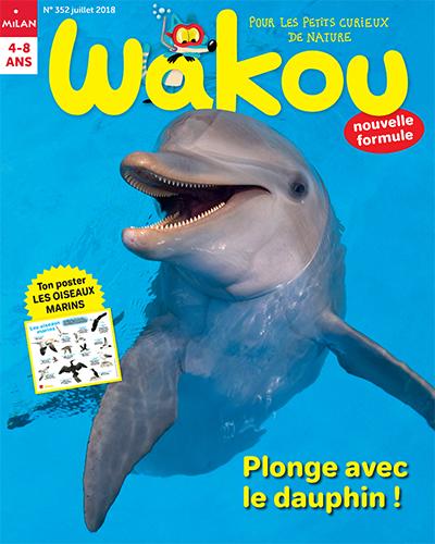 Wakou 352 (01/07/2018) : Plonge avec le dauphin !