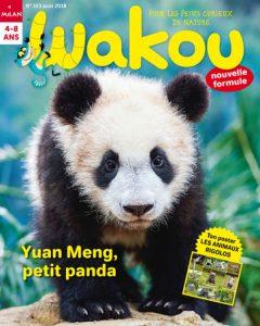 Wakou le magazine des petits pandas