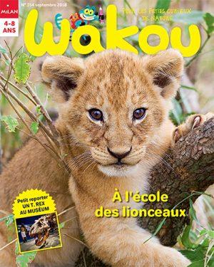 A l'école des lionceaux avec Wakou magazine