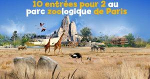 parc zoologique de paris concours
