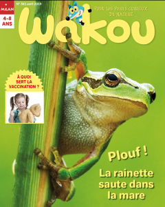 Couverture Wakou avril 2019