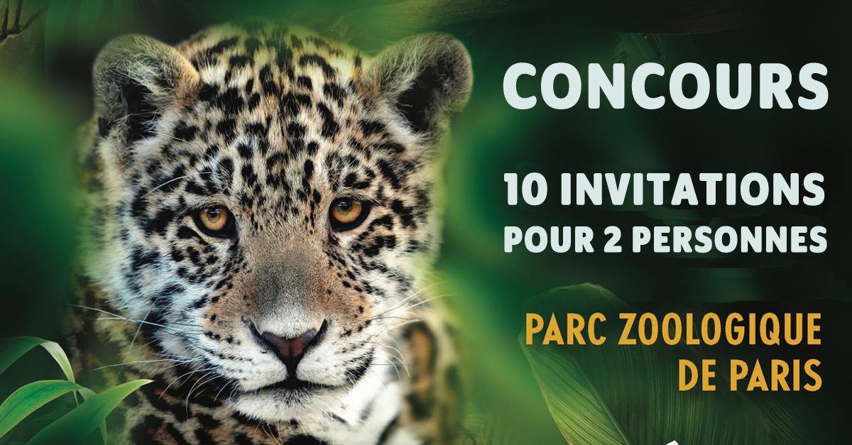 concours zoo de paris