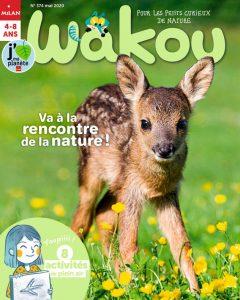 Couverture magazine WAKOU Mai