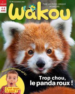 Wakou magazine - Panda roux