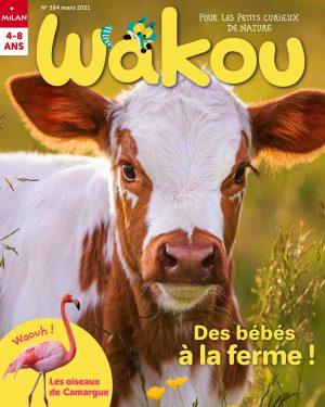 Wakou magazine Mars 2021 - Des bébés à la ferme