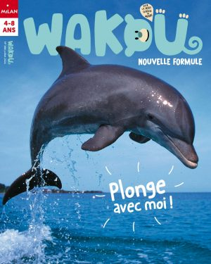 Couverture wakou magazine - Le dauphin