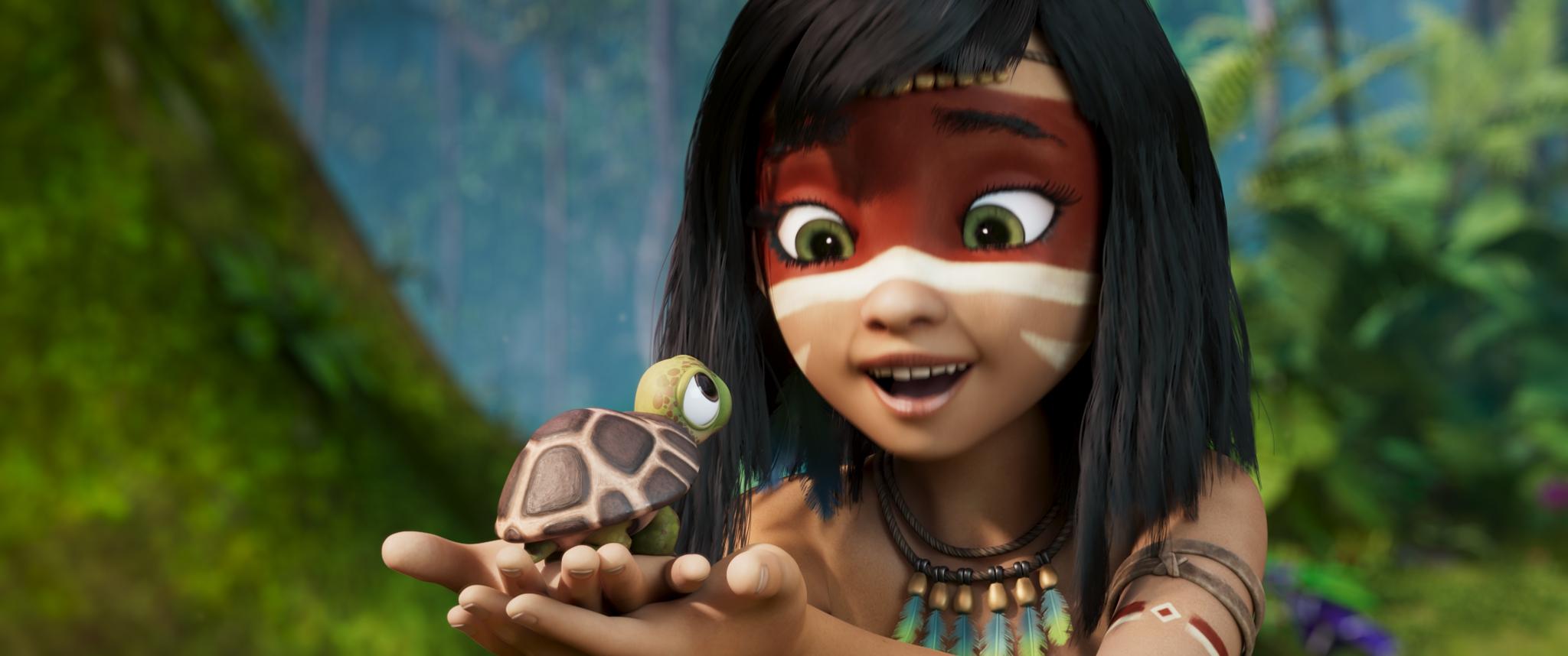 film, ainbo, princesse, amazonie
