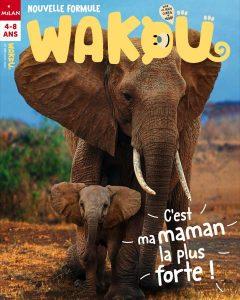 En route les éléphants ! Couverture Wakou magazine