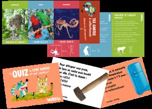 Quiz et cartes Wakou magazine