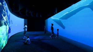 odyssee sensorielle, museum, paris, baleine, immersion, exposition